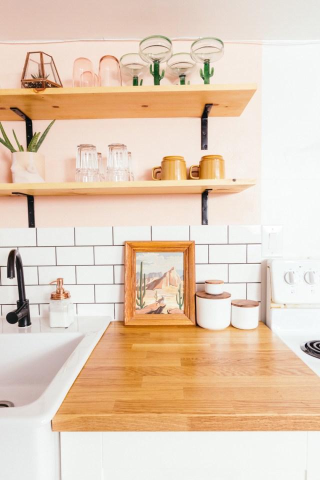 Autumn Hachey DIY Apartment Kitchen