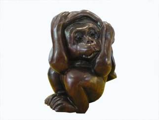 bois de fer, bui, collection miniature netsuke