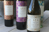 DIY Wine Bottle Candle Holders   Ava Grace Vineyards