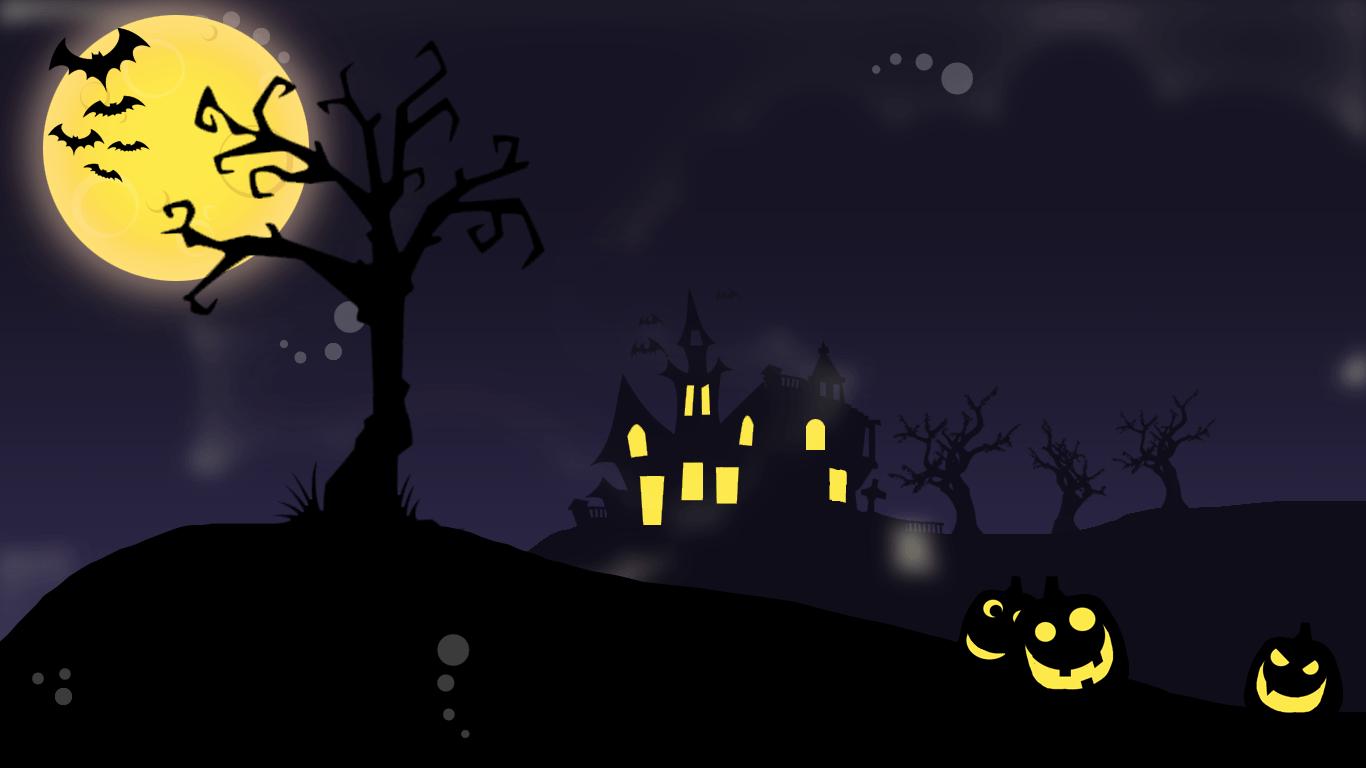 Cute Cat Wallpaper 3d Halloween Wallpaper Give Your Desktop Also Spooky Look
