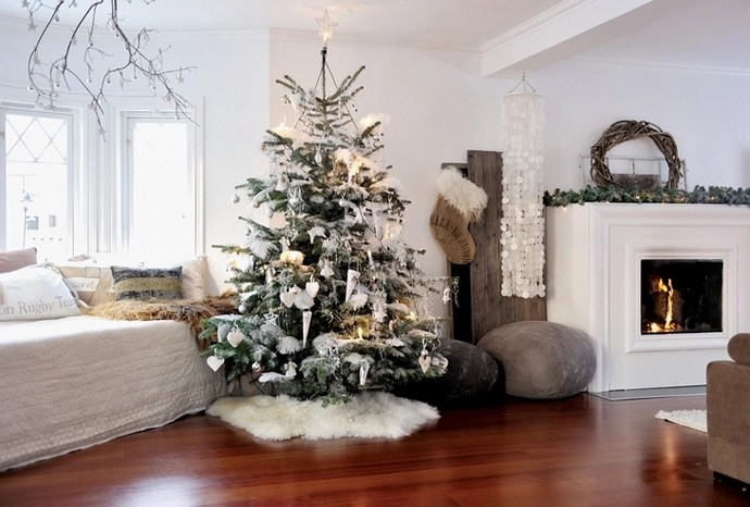 20 Christmas Living Room Decoration Ideas - christmas room decorations