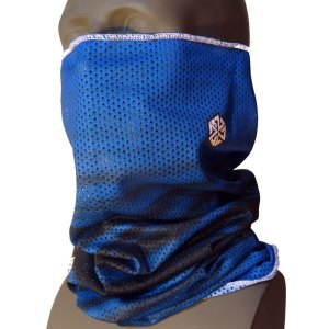 AVALON7 Mesh Tshield blue snowboaridng facemask