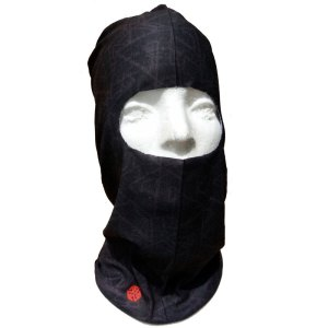 AVALON7 Standard Black balaclava for skiing or snowboarding