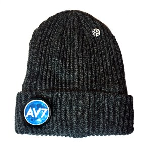 AV7 The Moon Knows Patch beanie