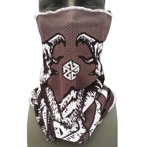 AVALON7 Mesh Face Shield snowboarding facemask by Hagen and Harry Kearney with eagle graphic