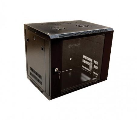 18u X 600w X 600d Wall Mount Single Section Cabinet Fan