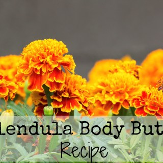 Calendula Body Butter Recipe