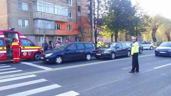Accident rutier la Petroşani