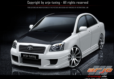 Mercedes Modified Cars Wallpapers Frontbumper For Toyota Avensis 2003 2008 Avb Sports
