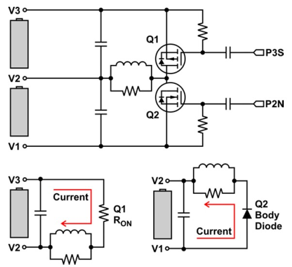 energy transfer in a circuit