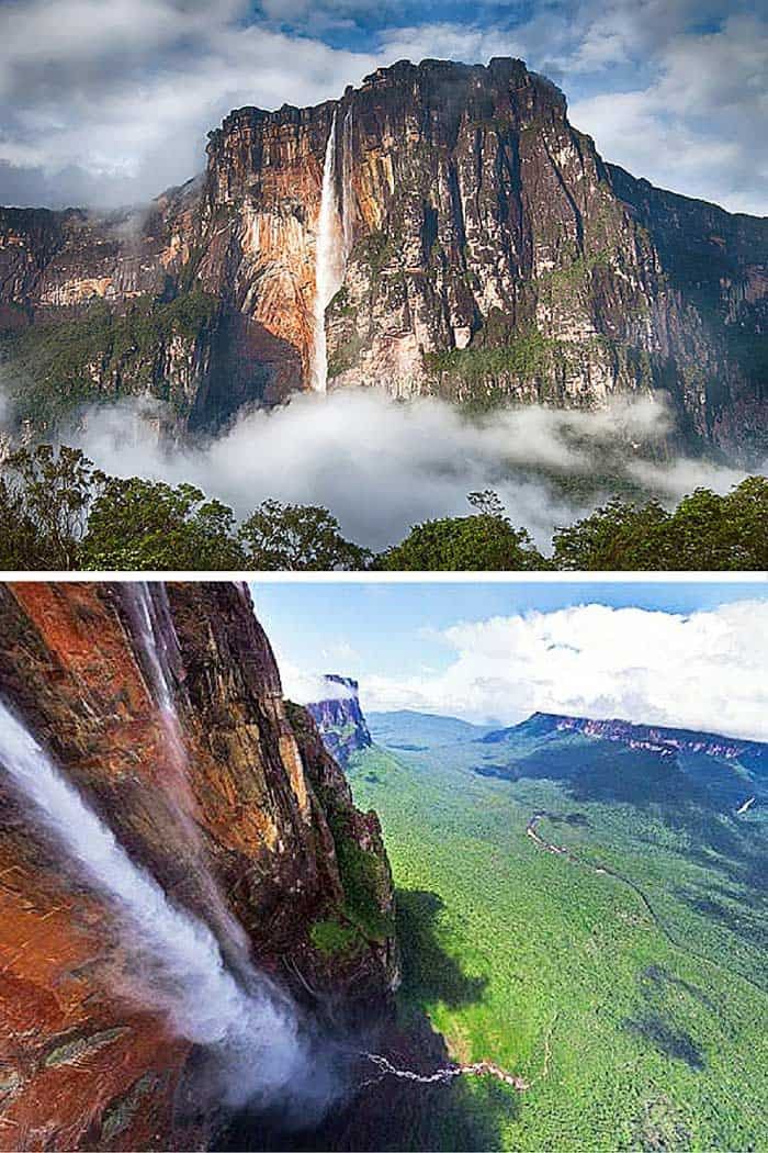 Angel Falls, Venezuela! The tallest waterfall in the world! Click through to see 10 of the most stunning waterfalls in the world!