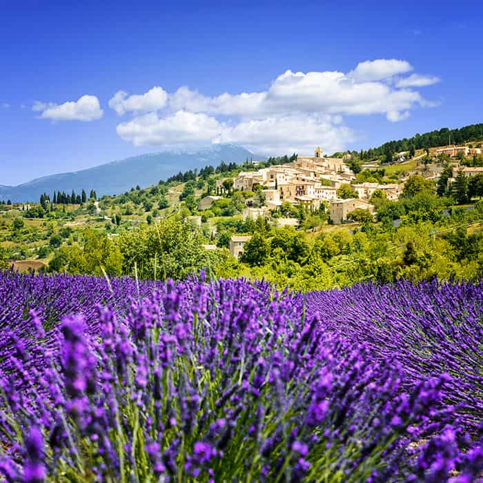 Simiane La Rotonde Village in Provence, France. Click through to see 25 more of the most beautiful villages in the world!