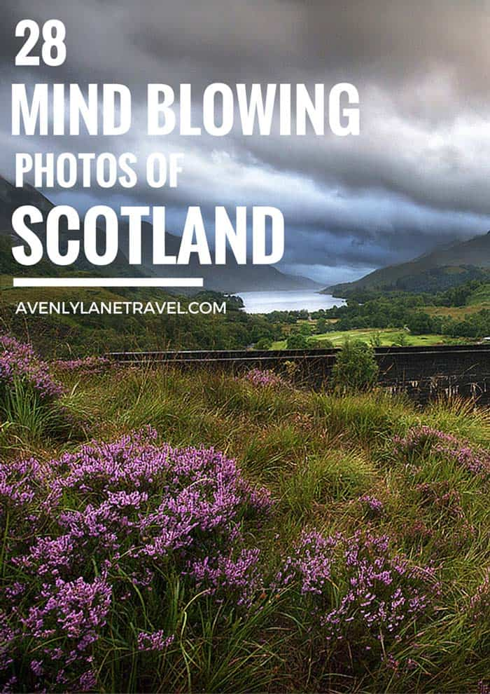 Scotland is one of the most beautiful countries in the world! Click through to see 28 Mind Blowing Photos of Scotland - Avenly Lane Travel