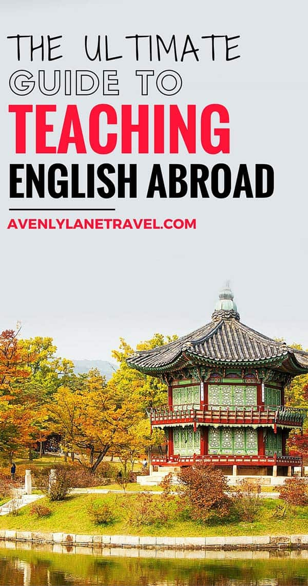 12 Best places for Teaching English Abroad