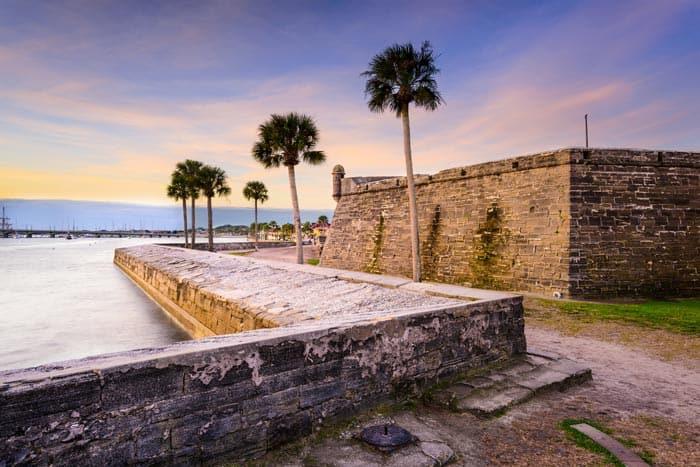 Castillo de San Marcos in St. Augustine.