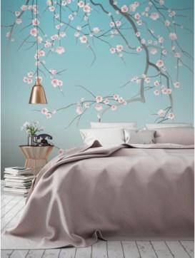 Tendance flower power sur vos murs aventure d co for Decoration murale japonaise