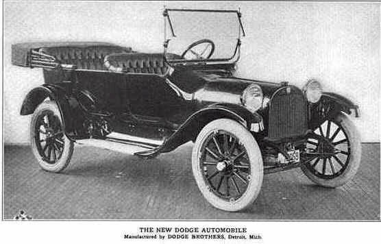 1913 Dodge Brothers Touring car.