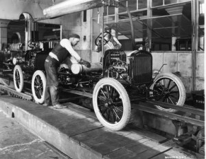 Ford's Production Line