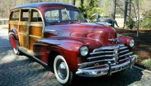 1949 Chevy Woody Station Wagon.