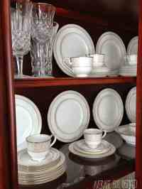 Tips on How to Arrange a China Cabinet - Average But Inspired
