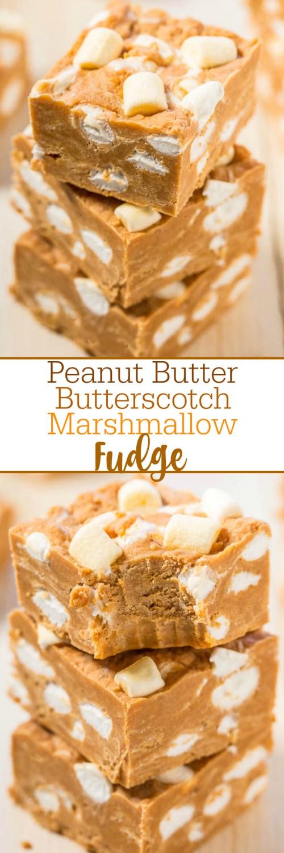 Medium Of Peanut Butter Fudge Marshmallow Creme