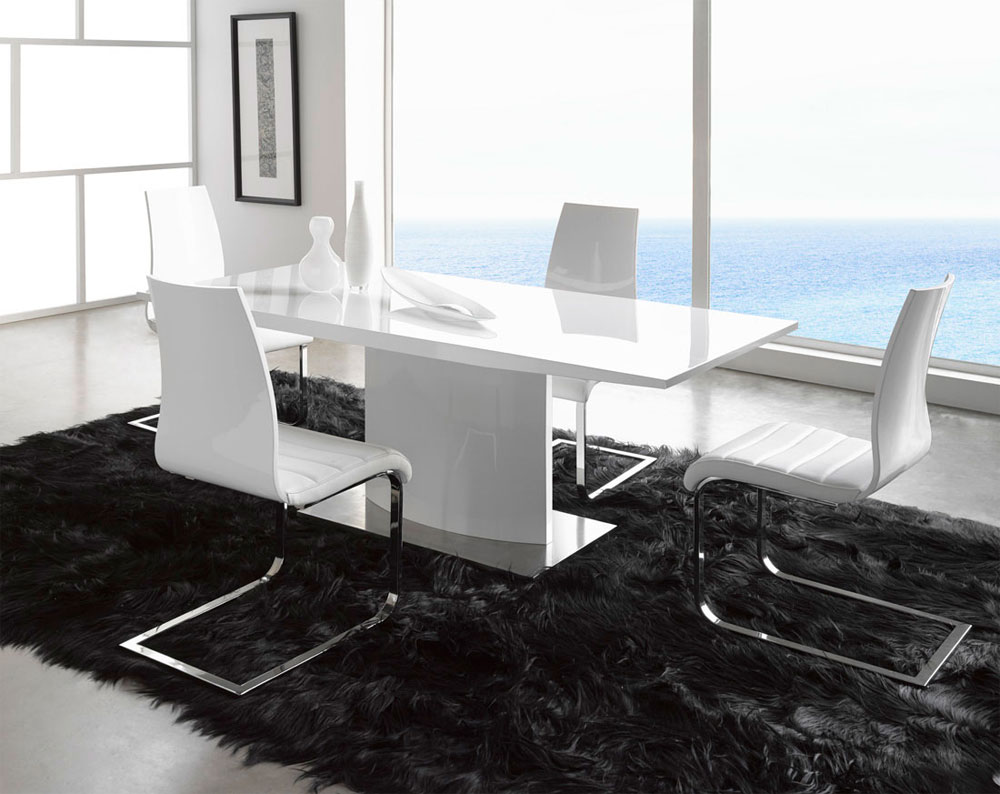 home bt modern noble lacquer dining table modern kitchen table Dining Table Cool Modern
