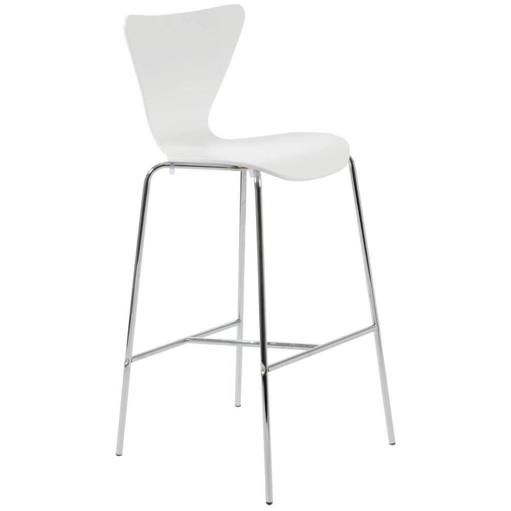 Tessa Bar Chair White