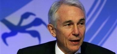 Tony Tyler, CEO da IATA na 68 reunião anual em Pequim