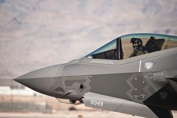 F-35A USAF 16th Weapons Squadron Nellis AFB
