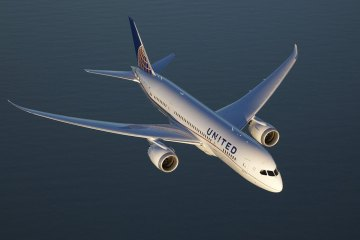 b787 dreamliner united airlines