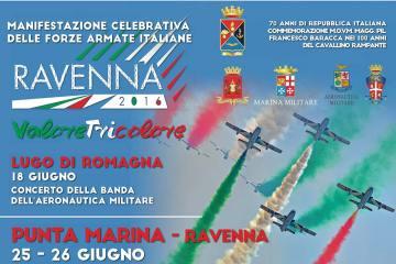 manifestazione aerea VALORE TRICOLORE 2016 Ravenna