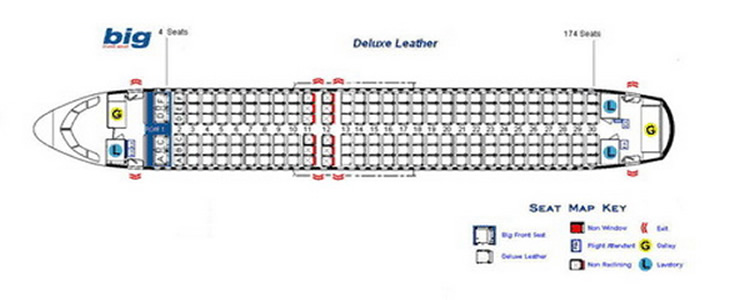 Spirit Airlines Airways Aircraft Seat Charts - Airline Seating Maps