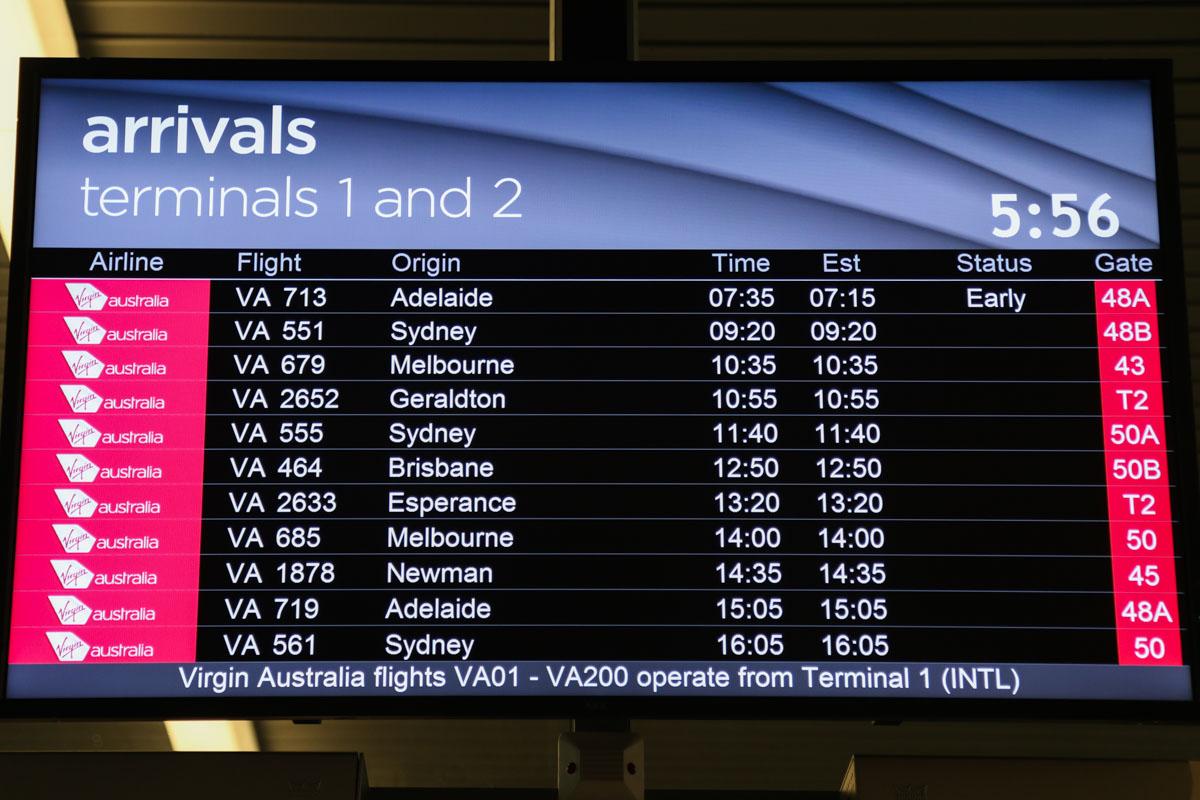 msn flight arrivals