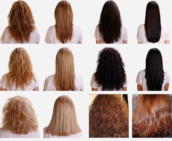 Как из жестких волос сделать гладкие в домашних условиях