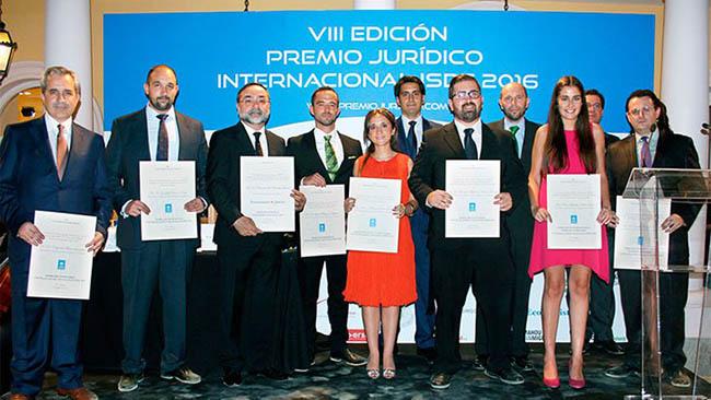 Resultado de búsqueda talidomida Francisco Ramón Perona García obtiene el VIII Premio Jurídico Internacional ISDE 2016