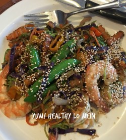 Mind Saves Me Some Time You Shrimp Lo Mein Avocado Runners Shrimp Lo Mein Real Shrimp Lo Mein Protein