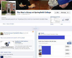 mens group pinned video