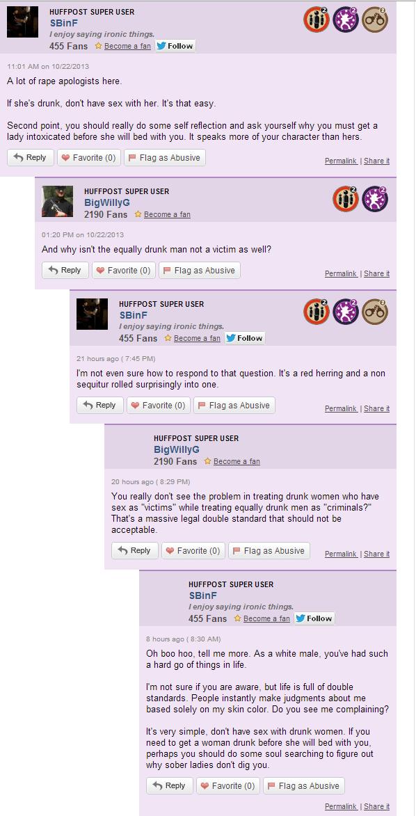 HuffPo Regular Commenter