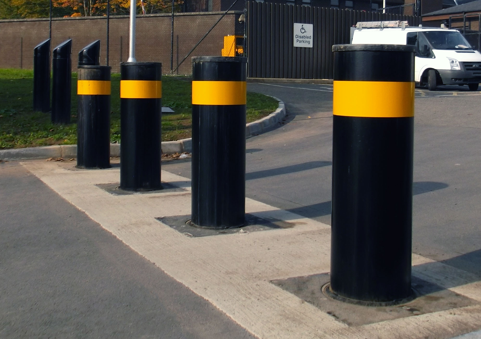 High Security Bollards PAS 68 IWA 14