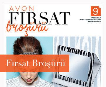 avon Fırsat broşürü - Ağustos 2016 K9 kataloğu