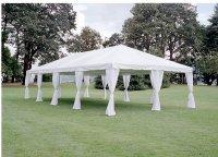 Leg Drapes for Canopies & Tents - AV Party Rental