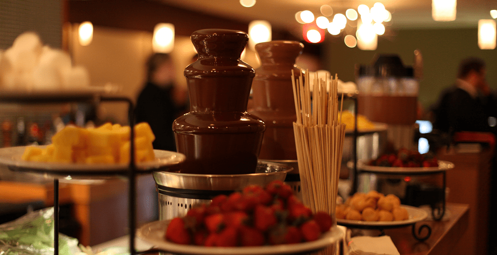The Color Of The Wallpaper Quote Chocolate Fountains Av Party Rental