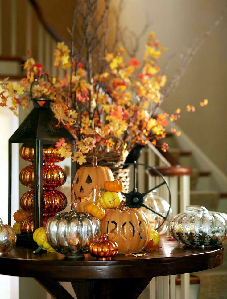 Cat In Fall Wallpaper White Halloween Decoration Ideas Interior Design Ideas Avso Org