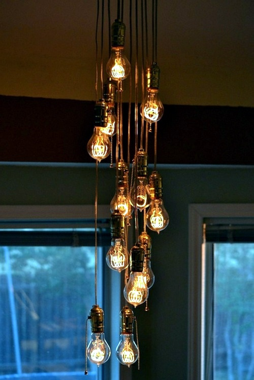 Cool DIY lamps bulbs