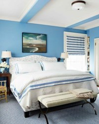 Powder Blue wall paint  water-colored interior | Interior ...