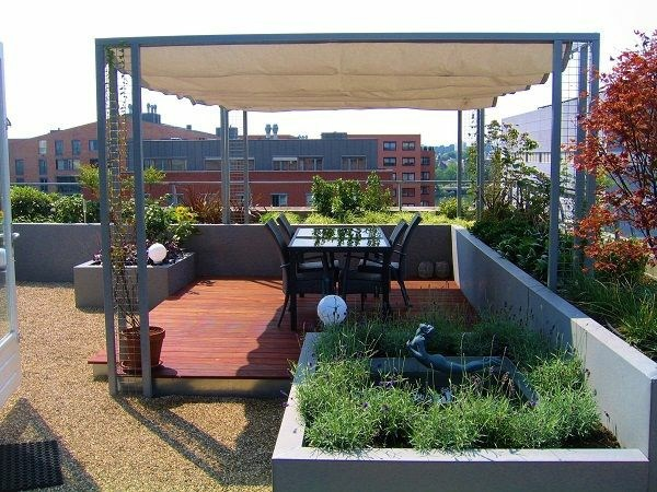 Roof terrace design ideas examples and important aspects