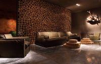 Make wall covering made of wood itself  beautiful wall ...