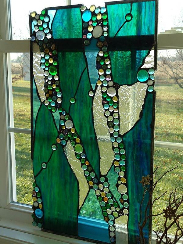 Glass Painting At Home – Colorful Glass Embellishment Than The