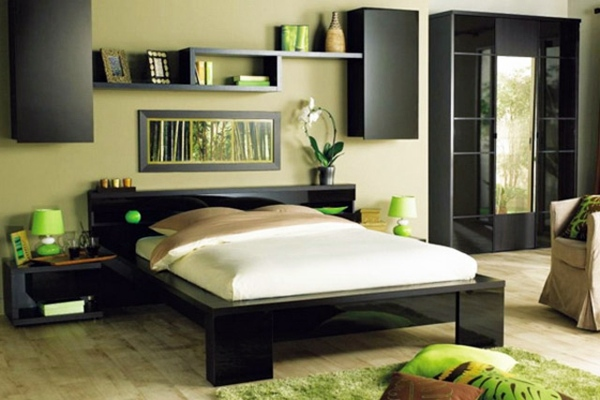 Bedroom wall design u2013 wall decoration behind the bed Interior - wall designs for bedroom