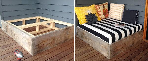 Modern Terrace Design – Cool Lounge Furniture Outdoor   Interior